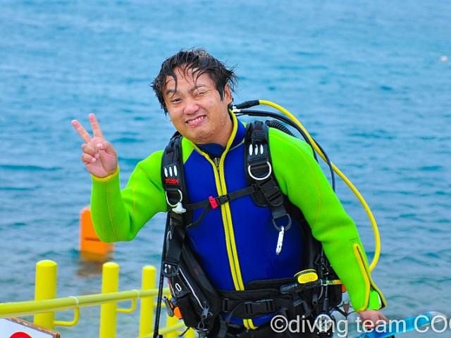 沖縄 PADI インストラクターCOOL 第16期生