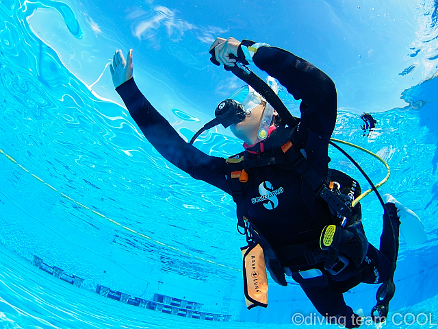 沖縄ダイビング オープンウォーターダイバー
