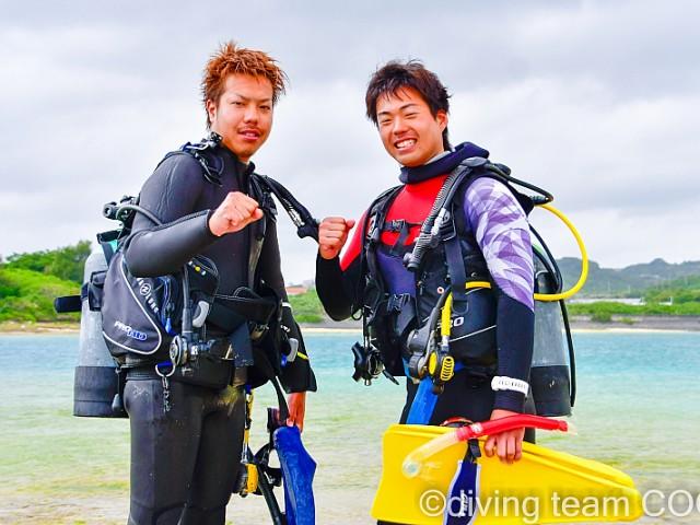 沖縄 PADI インストラクターCOOL 第24期生