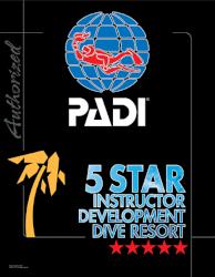 PADI 5 スター