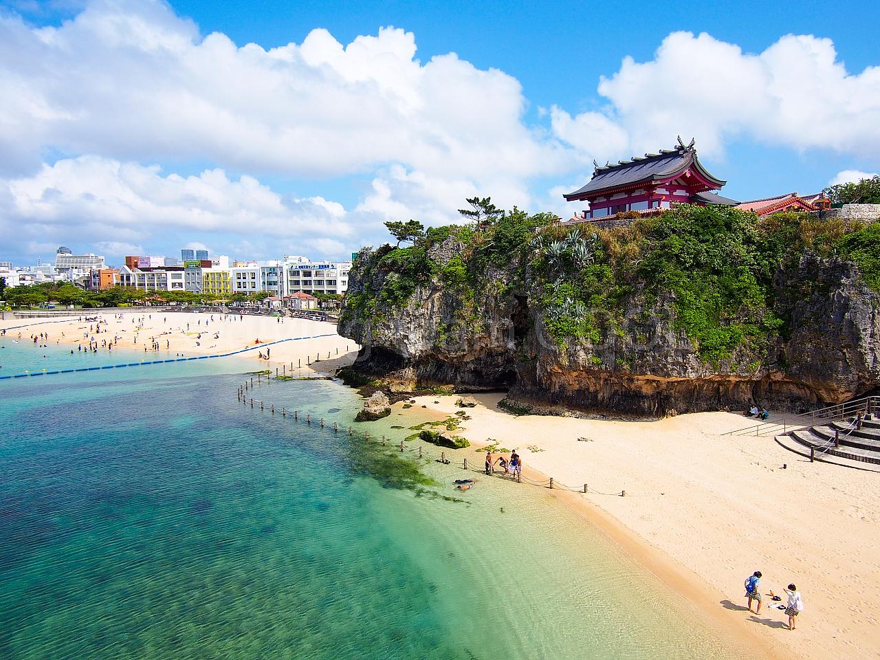 沖縄ダイビングクール 波の上ビーチ