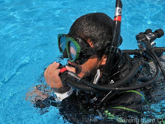沖縄ダイビング レスキューダイバー