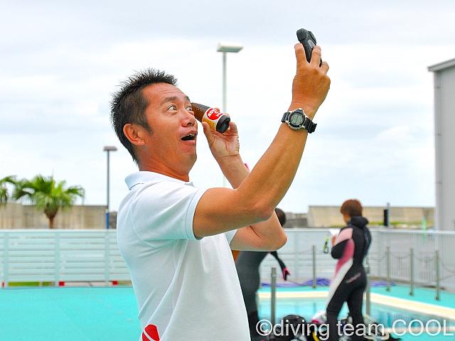 沖縄ダイビング クール コースディレクター