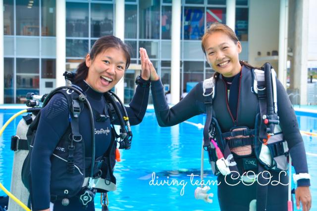 沖縄PADIインストラクターコース