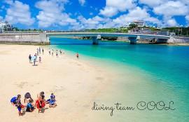 沖縄ダイビング 奥武島ビーチ