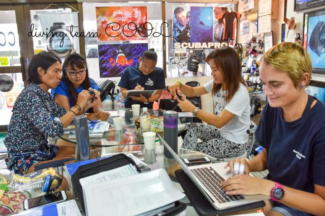 沖縄 PADIインストラクターコース
