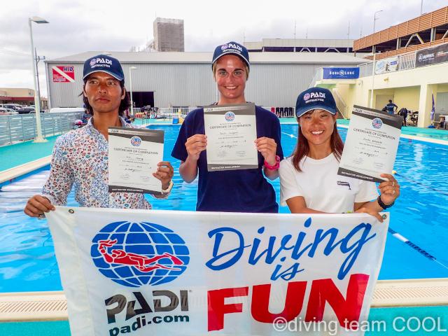 沖縄 ダイビングインストラクターコース