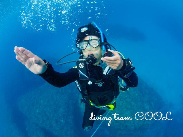 沖縄ダイビング ダイバー