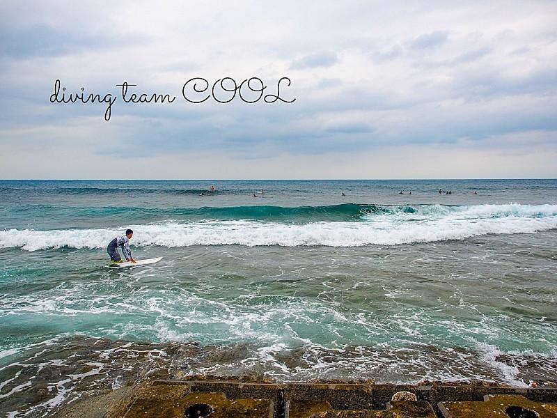 沖縄 サーフィン観戦