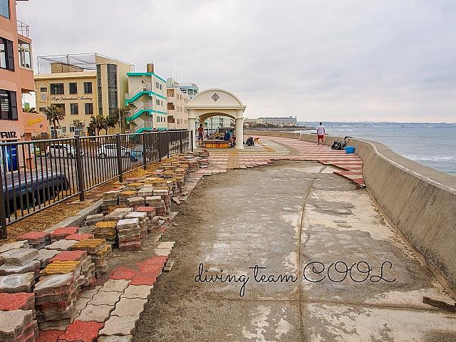 砂辺 台風に被害