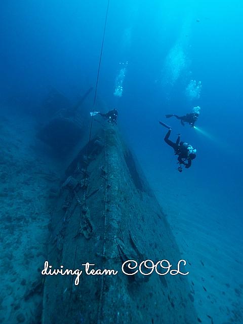 沖縄USSエモンズ沈船