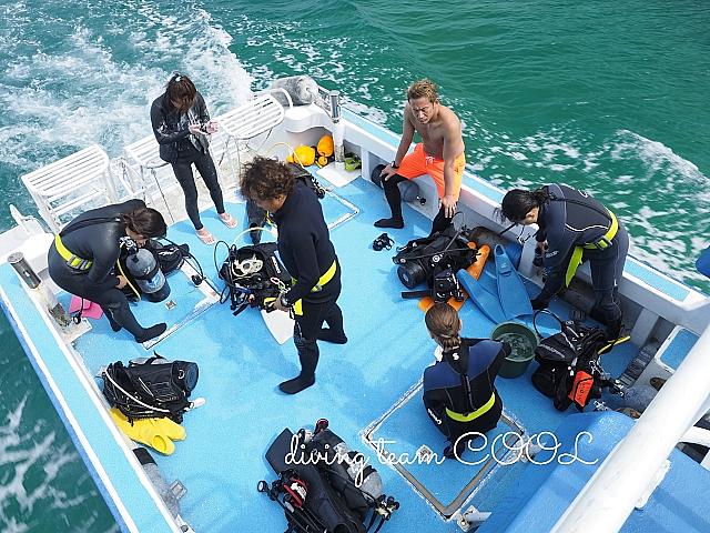 沖縄 ダイビングボート