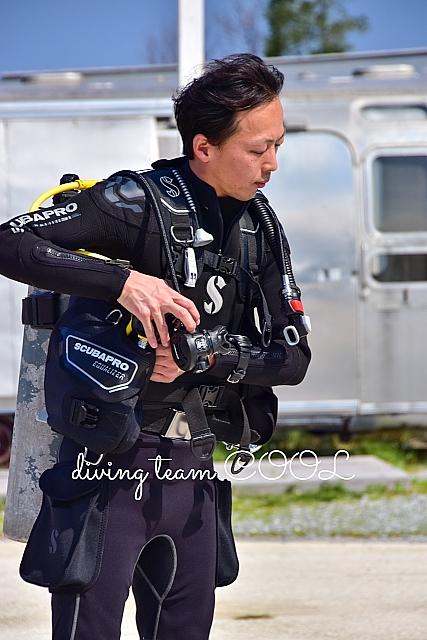 沖縄 PADI インストラクター候補生