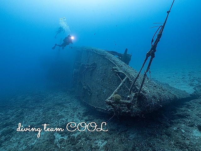 沖縄ダイビング USSエモンズ沈船ダイブ