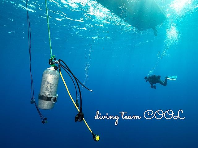 沖縄ダイビング 安全停止