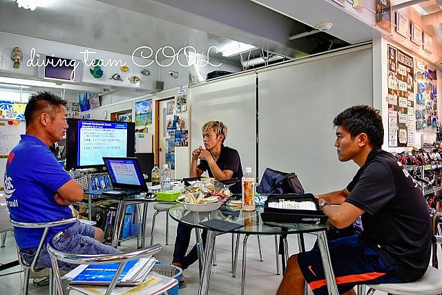 沖縄PADIインストラクターインストラクター開発コース