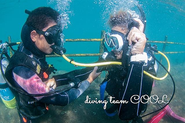 沖縄ダイビング オクトパス・ブリージング