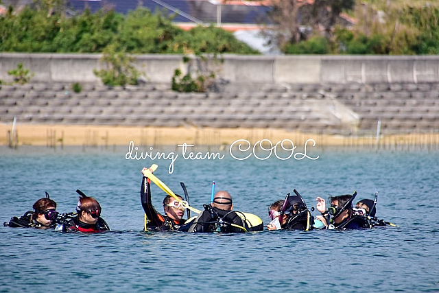 沖縄 PADIインストラクター試験