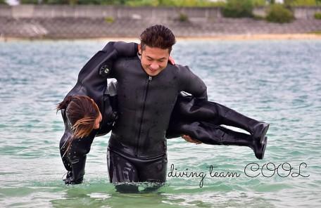 沖縄ダイビング レスキューダイバー講習