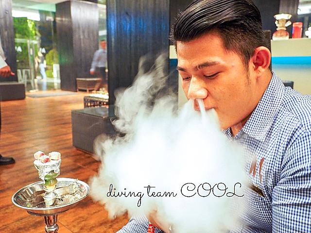 インドネシア シーシャ(水タバコ)