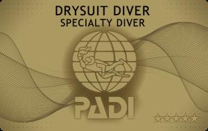 沖縄ダイビング ドライスーツダイバーSP