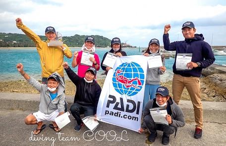沖縄PADIインストラクター