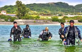 #沖縄PADIインストラクター開発コース