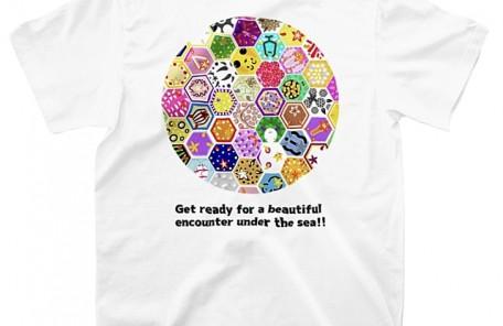 #沖縄ウミウシTシャツ